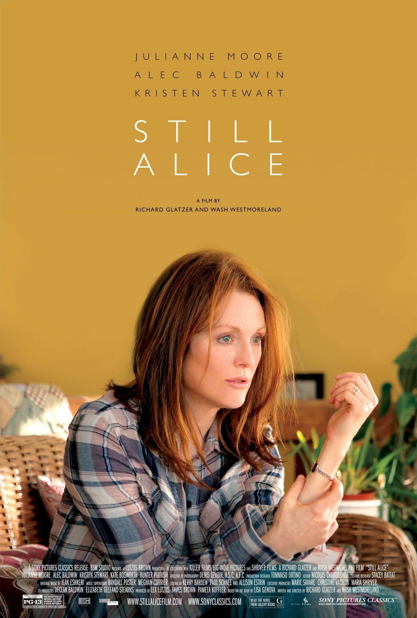 Still Alice è un film drammatico del 2014. Il film in Italia è uscito a gennaio 2015