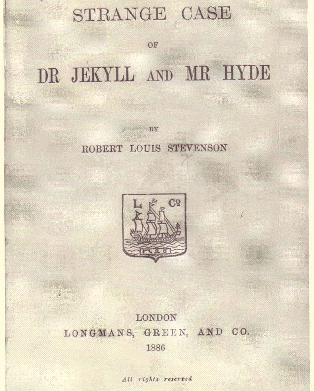 Dr Jekyll - Mr Hyde - 1886