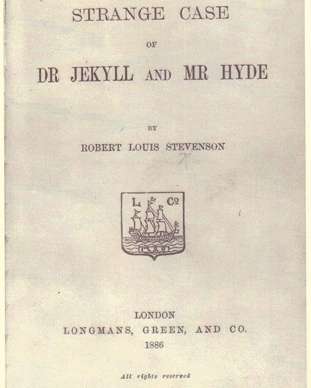 Dr Jekyll - Mr Hyde - 1886