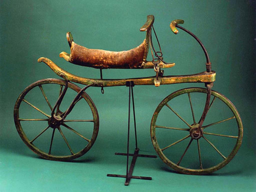 Draisina - Antenata della bicicletta - 1817