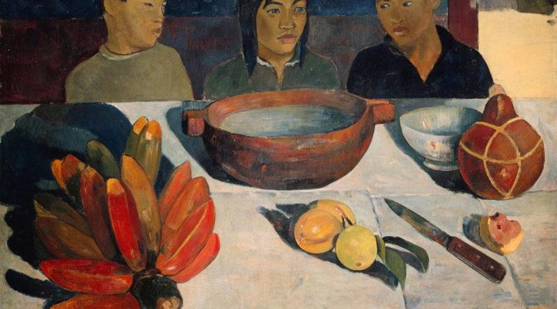 Gauguin - Le repas - Il pasto - 1891