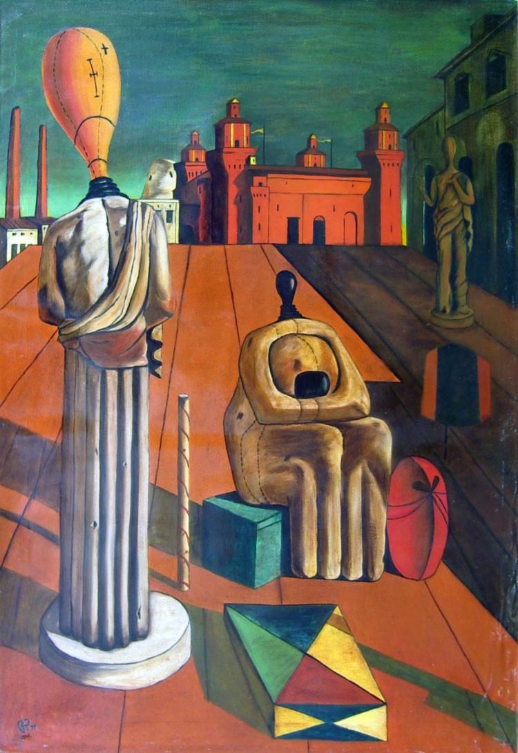 Le muse inquietanti (De Chirico, 1917-1918)