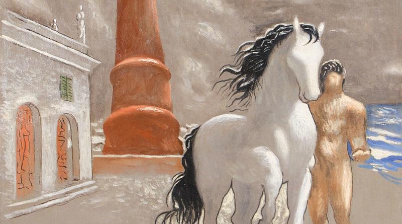 Le rive della Tessaglia (Giorgio De Chirico, 1926)