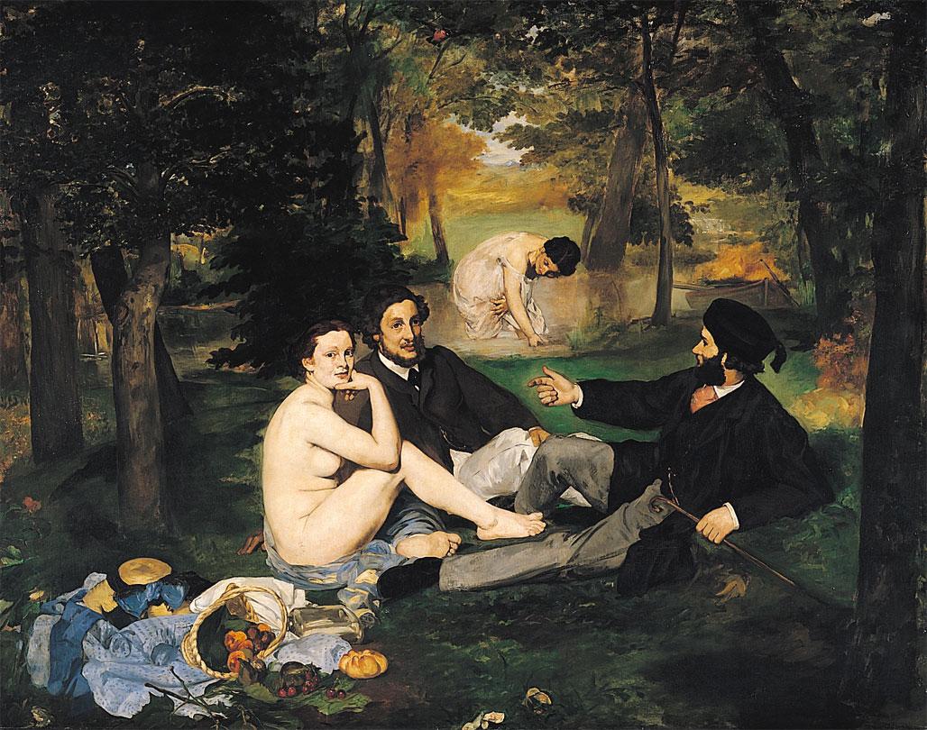 Edouard Manet - Colazione sull'erba (1862-1863)