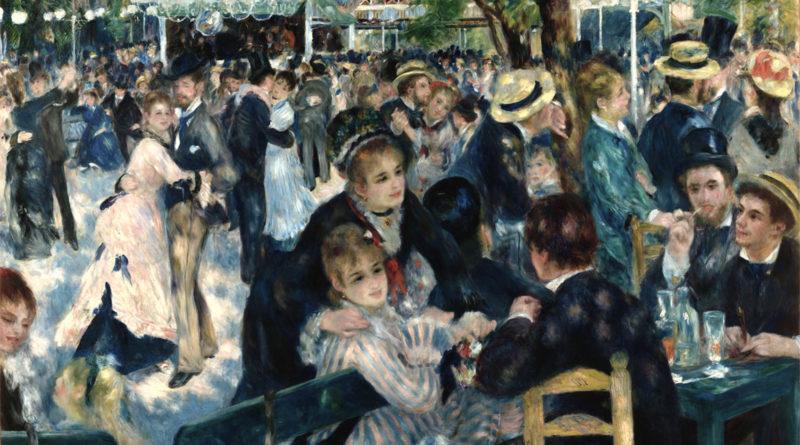 Renoir - Ballo al moulin de la Galette - 1876
