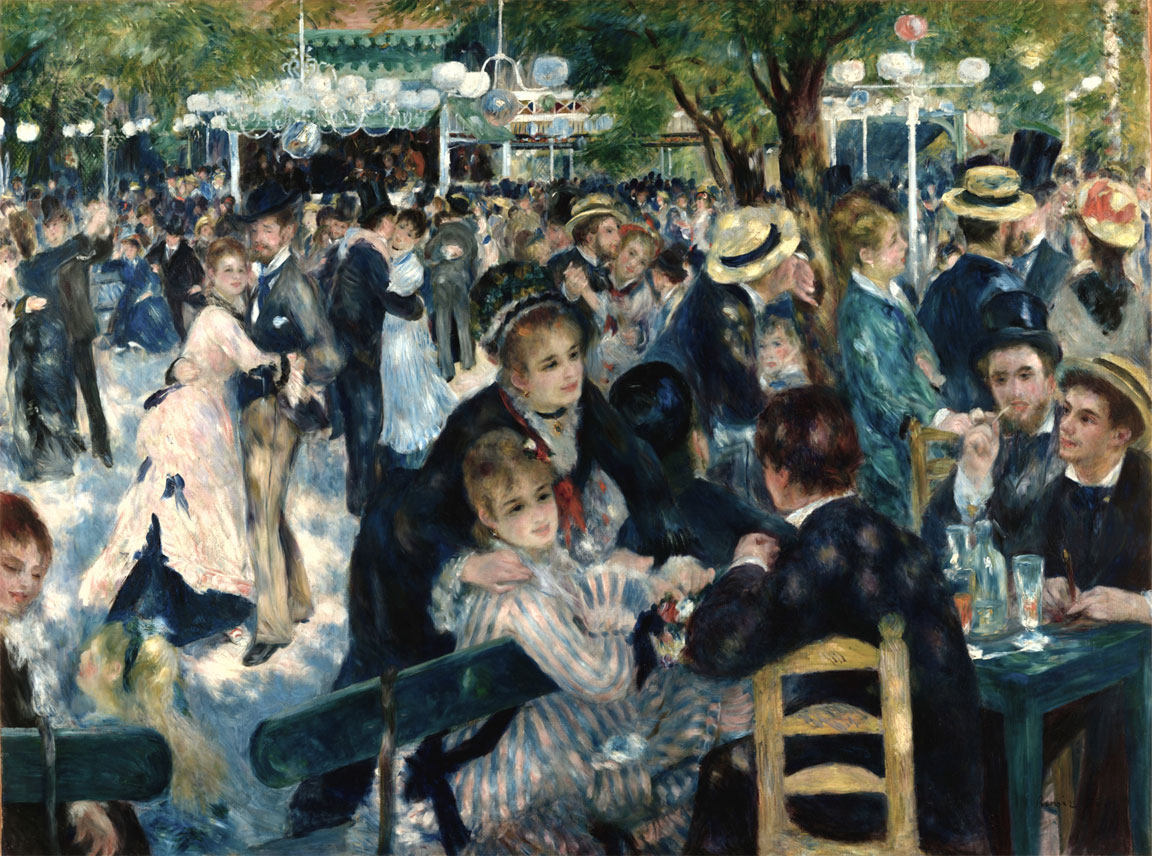Bal du moulin de la Galette (Dance at Le Moulin de la Galette)