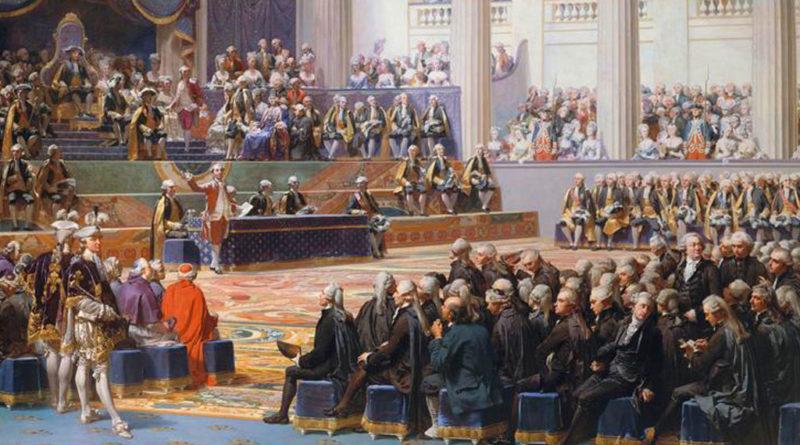 Apertura degli Stati Generali - Francia 1789 - Couder