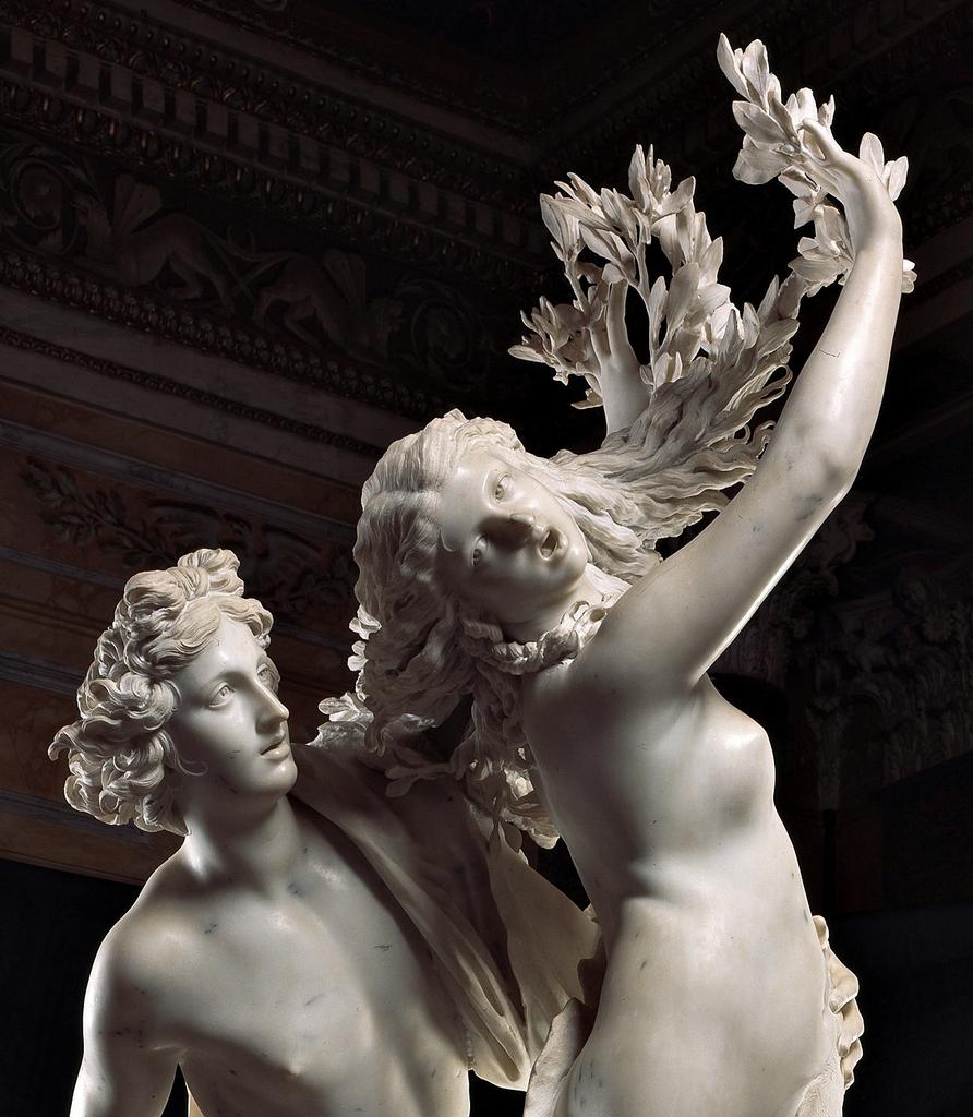 Apollo e Dafne - particolare