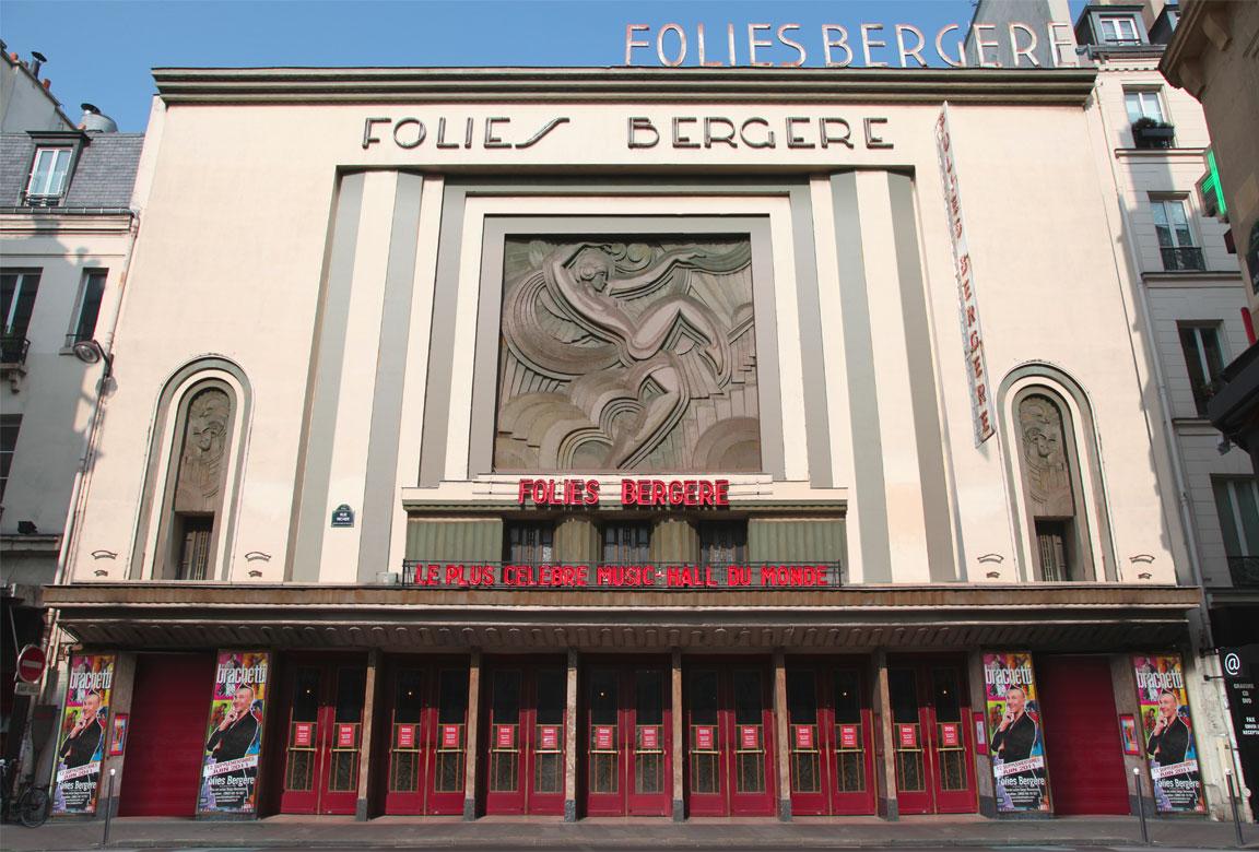 Folies Bergere - ingresso - entrance