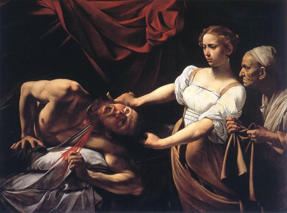 Giuditta e Oloferne - Caravaggio - Michelangelo Merisi - 1597-1600