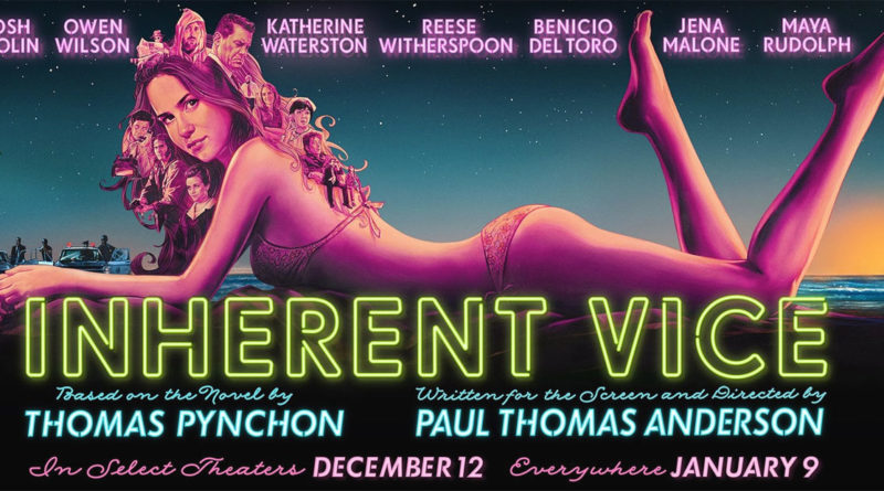 Inherent Vice - Vizio di forma - Poster - cinema