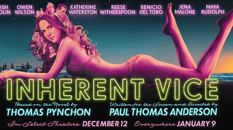 Inherent Vice - Vizio di forma - Poster - cinema