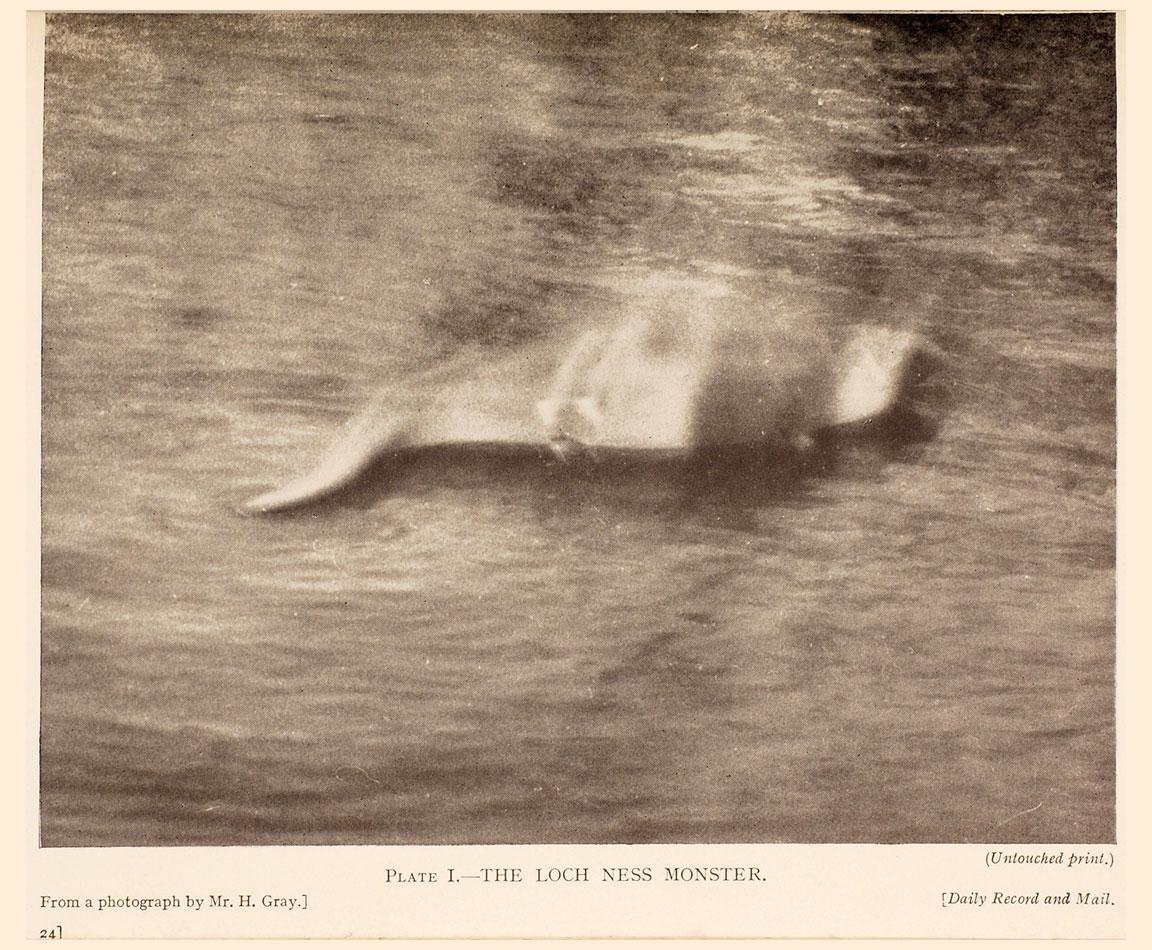 Loch Ness Mostro - Foto di Hugh Gray - 1933