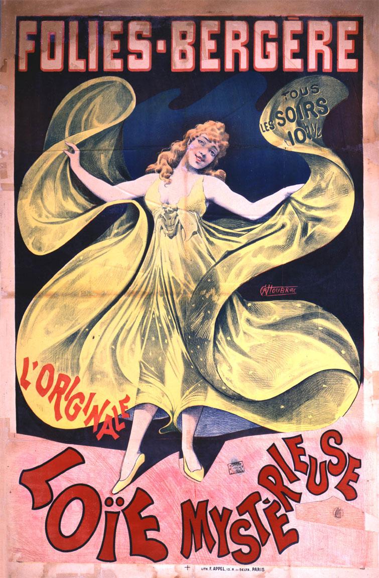 Loïe Fuller a Les Folies Bergère