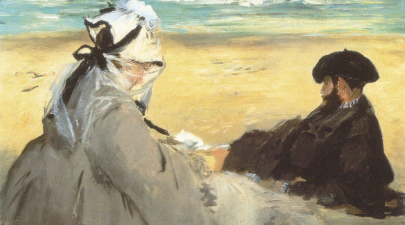 Manet - Sulla sabbia - 1873 - Sur la plage - On the beach