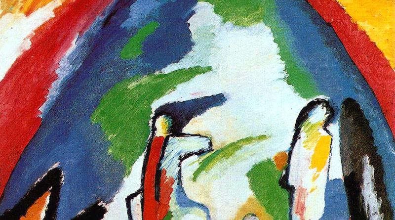 Montagna - Mountain - Kandinsky - 1909