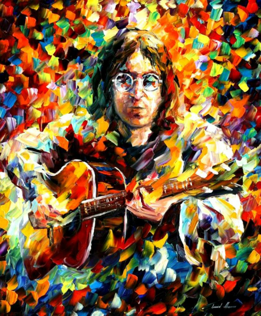 Leonid Afremov - Ritratto di John Lennon