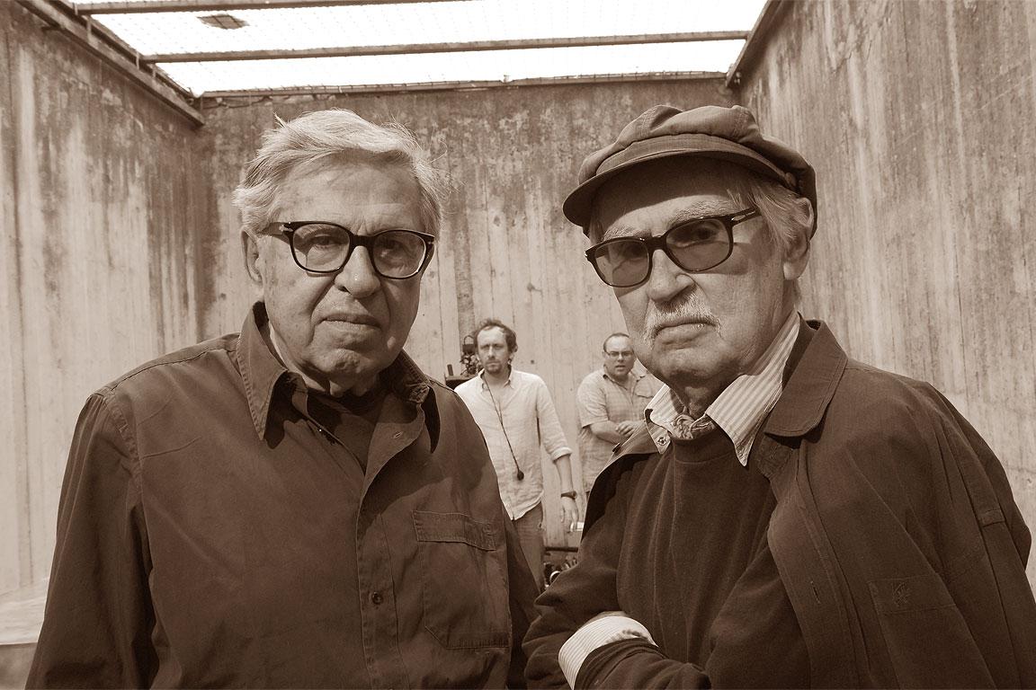 I fratelli registi Paolo e Vittorio Taviani