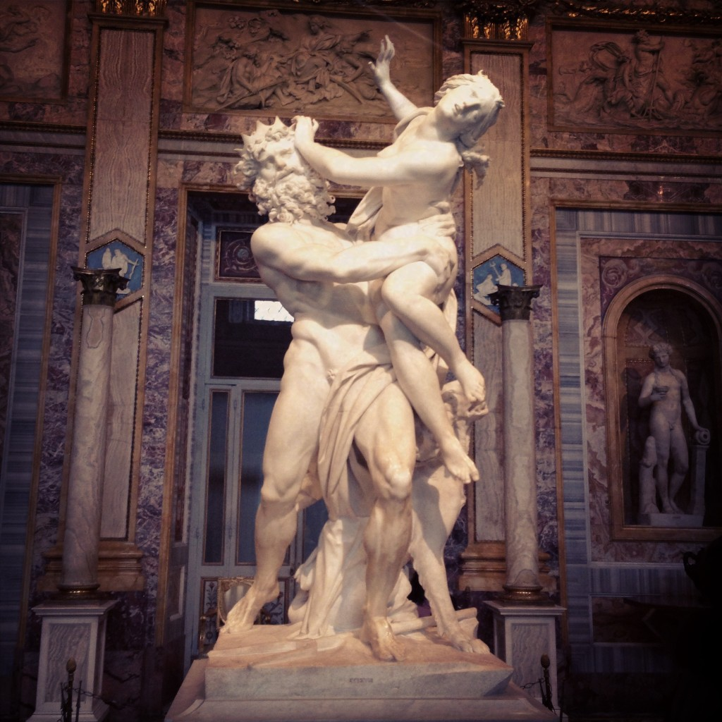 Il ratto di Proserpina - Galleria Borghese