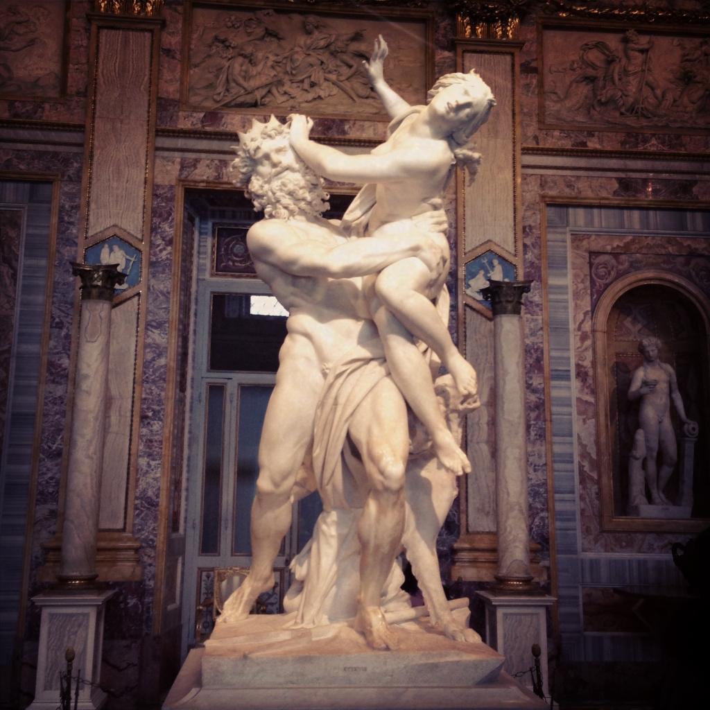 Souvent Ratto di Proserpina (scultura del Bernini) HP04