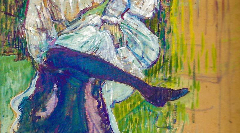 Jane Avril che danza - Henri de Toulouse-Lautrec - 1892