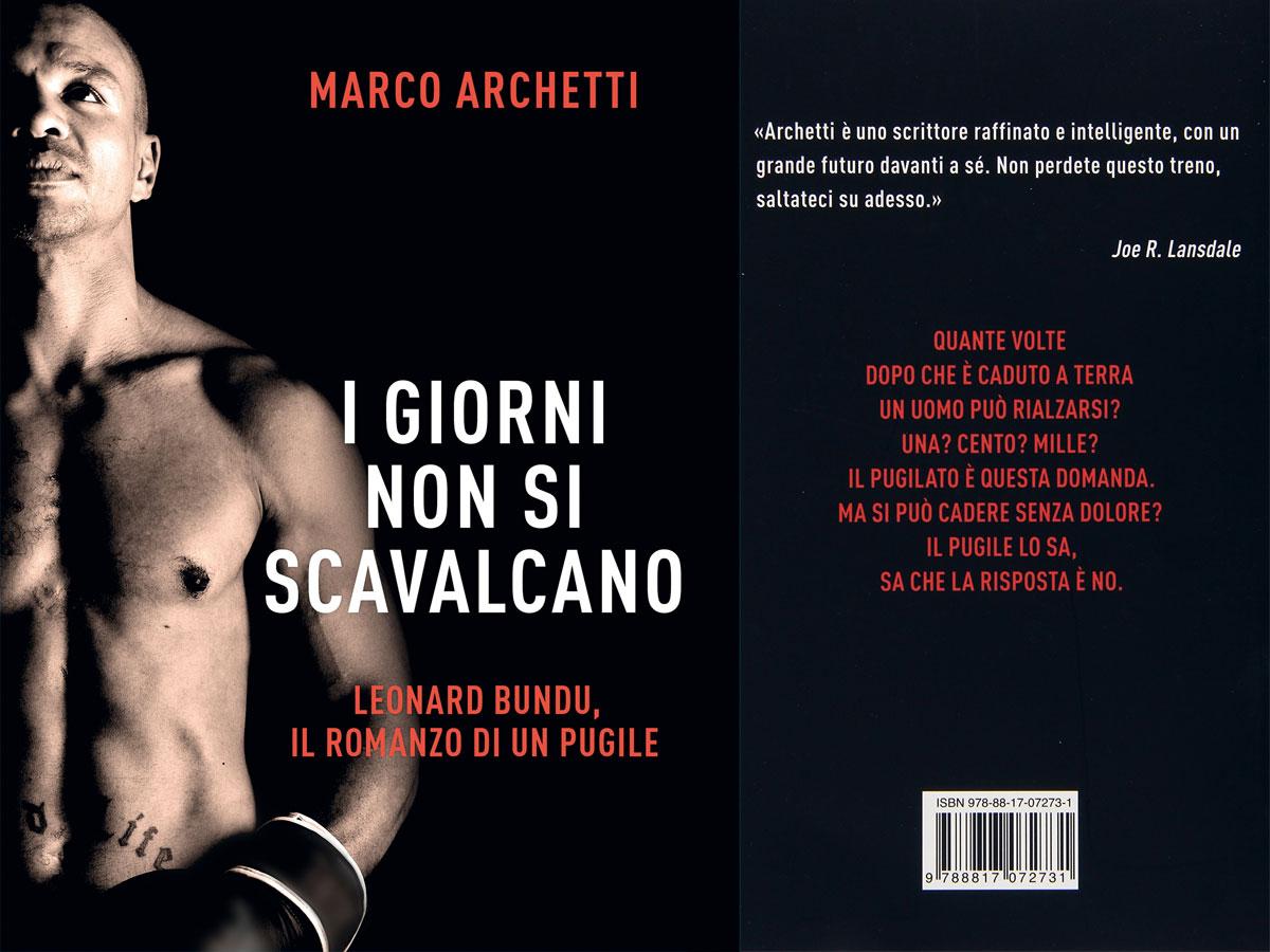 Marco Archetti - libro - I giorni non si scavalcano