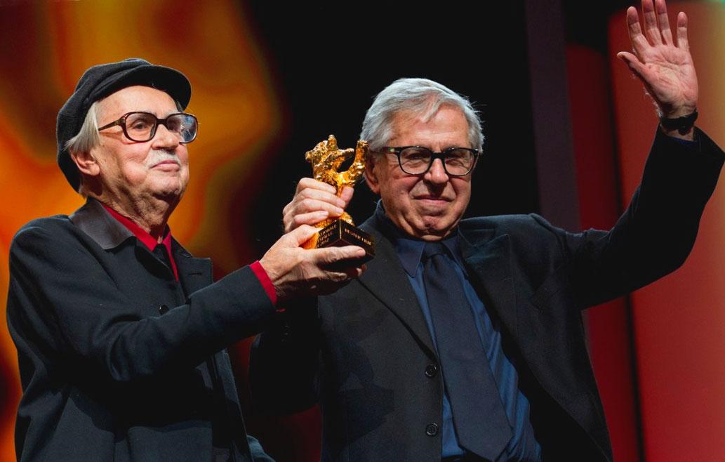 Vittorio e Paolo Taviani nel 2012