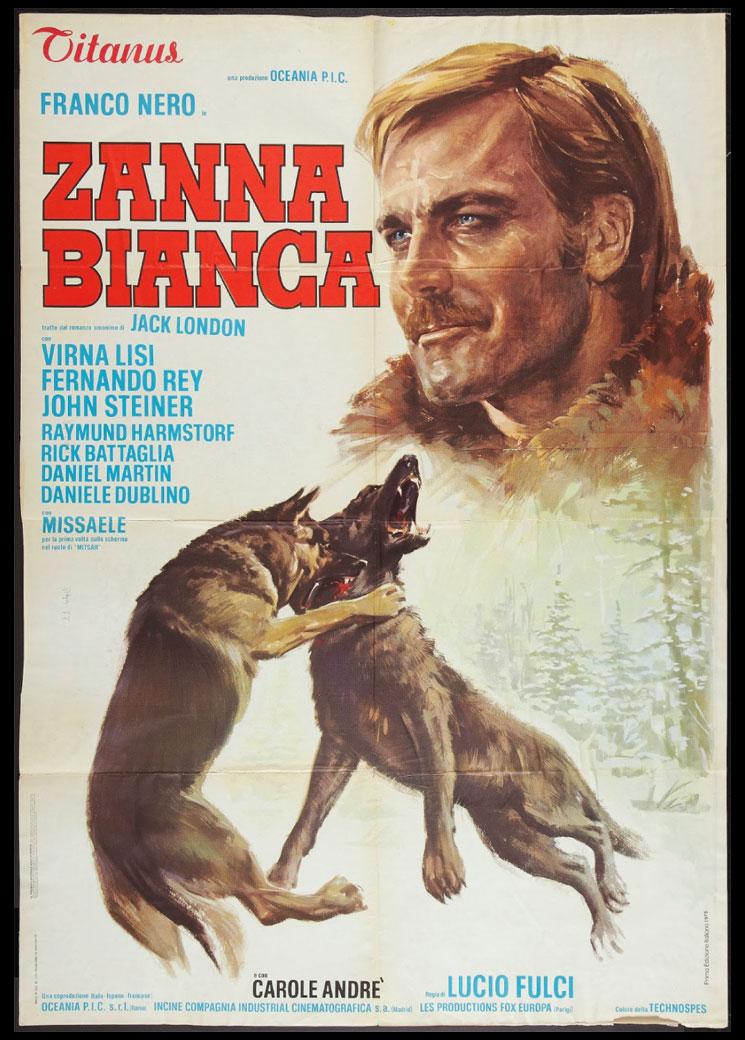 Zanna Bianca - film 1973 - Franco Nero