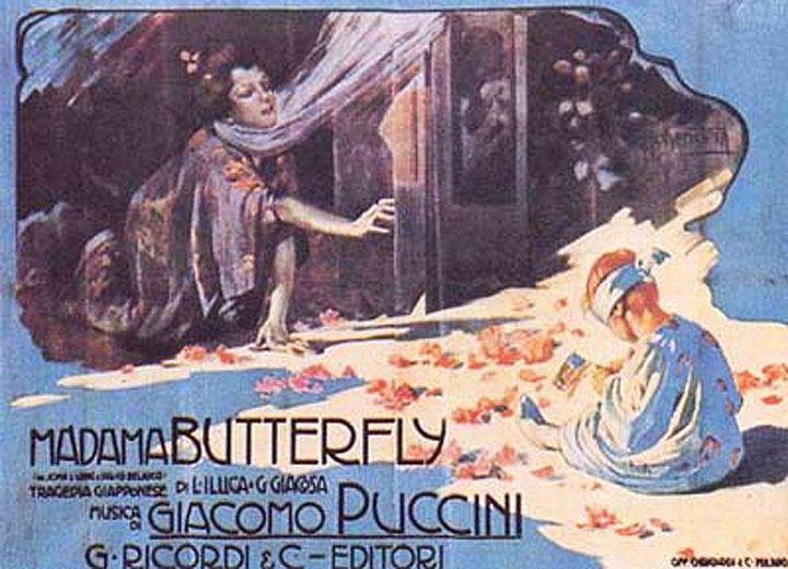 Madama Butterfly - La locandina originale