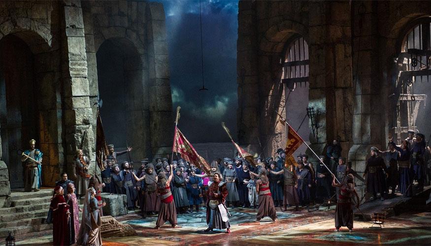 Otello di Giuseppe Verdi - scena - Teatro di Modena