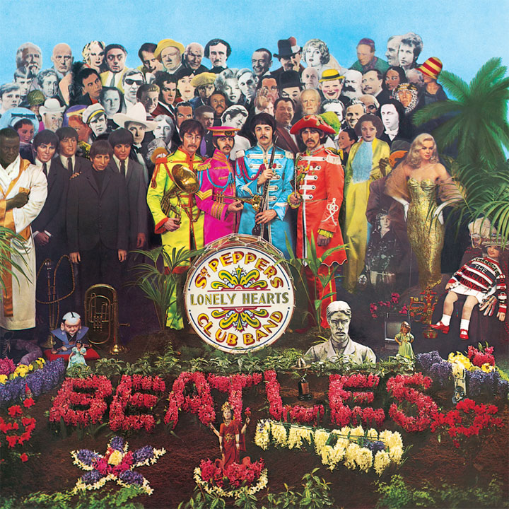 Sgt Pepper Beatles - copertina