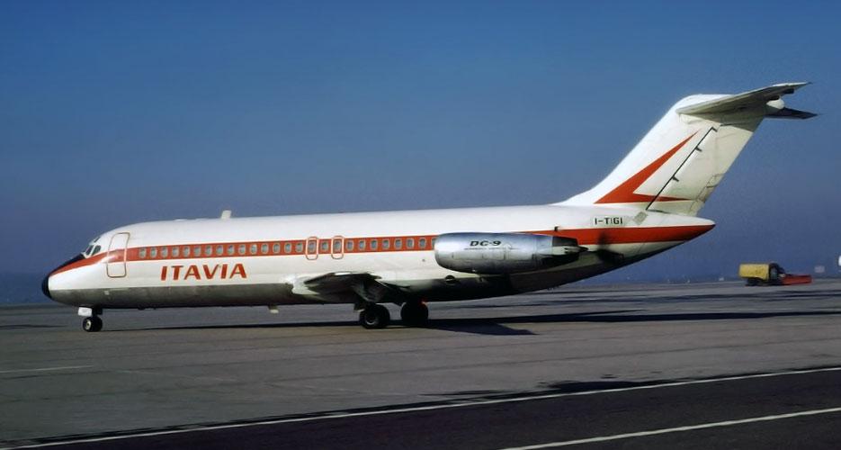 Strage di Ustica - foto aereo