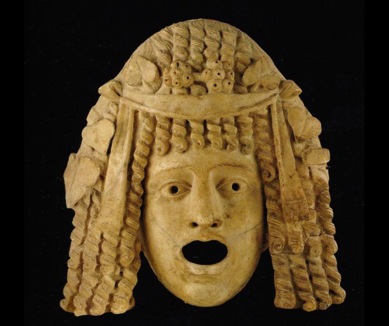 Teatro romano - Maschera tragica