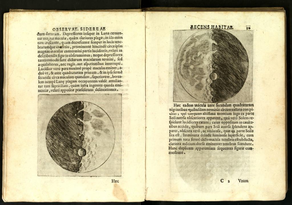 Galileo Galilei - Sidereus Nuncius - Luna