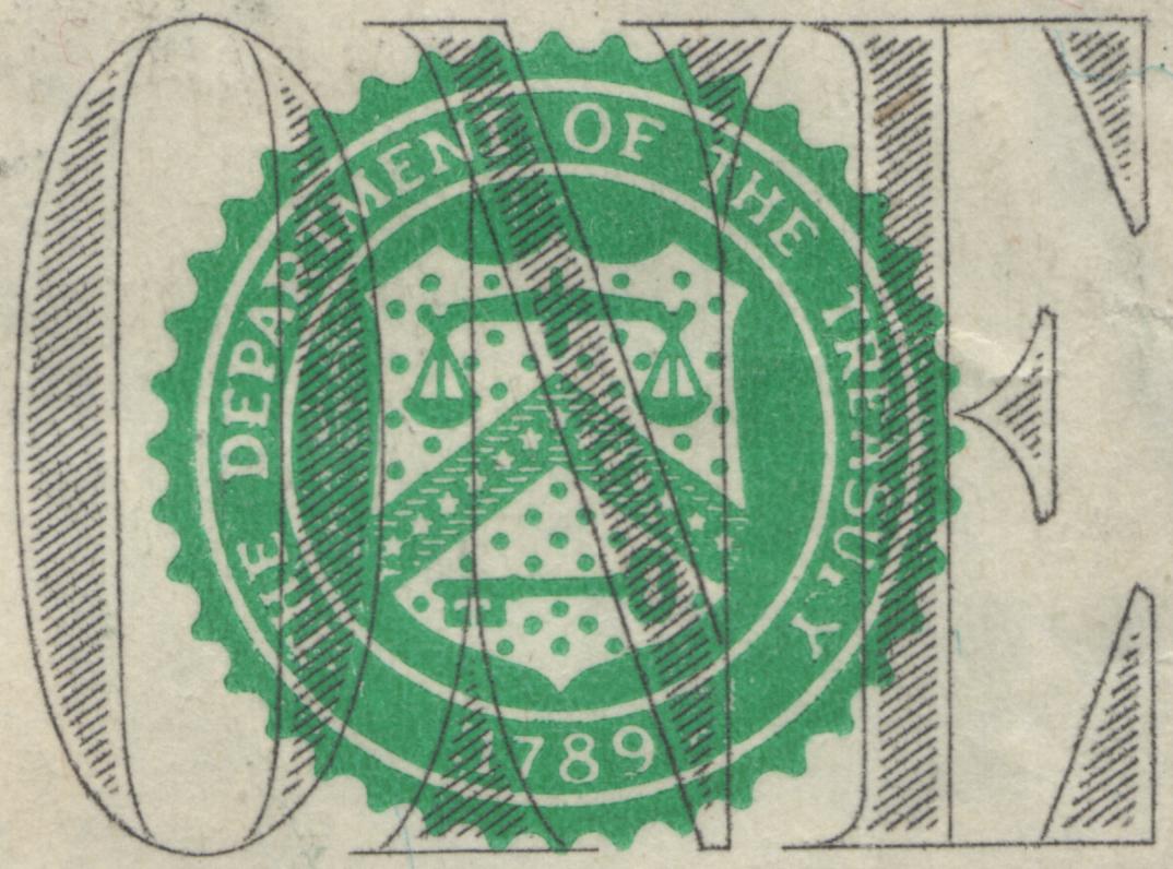 Dipartimento del Tesoro - particolare