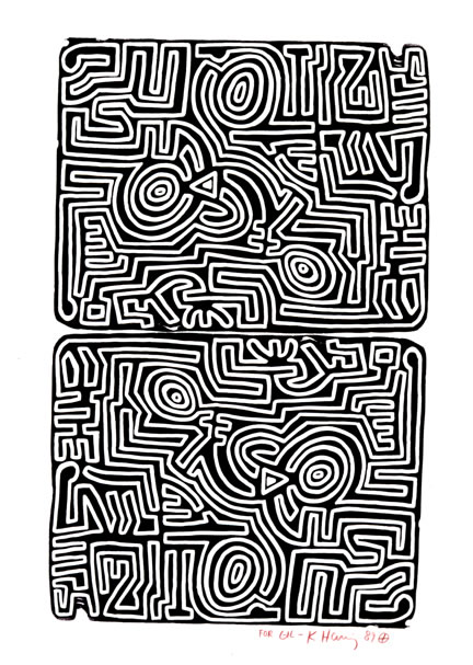 Haring The Labyrinth
