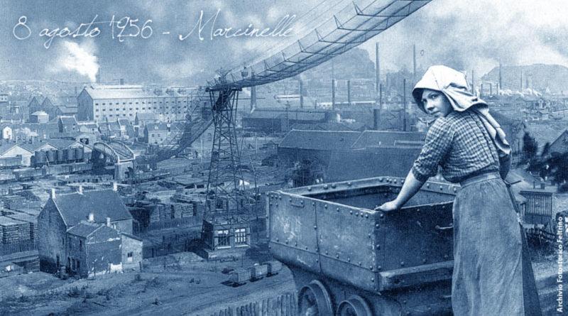 Marcinelle (Belgio) disastro in miniera - 8 agosto 1956