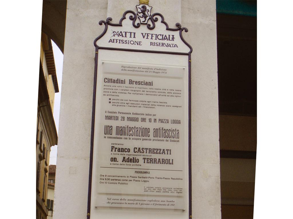 Piazza della Loggia - Brescia - Strage