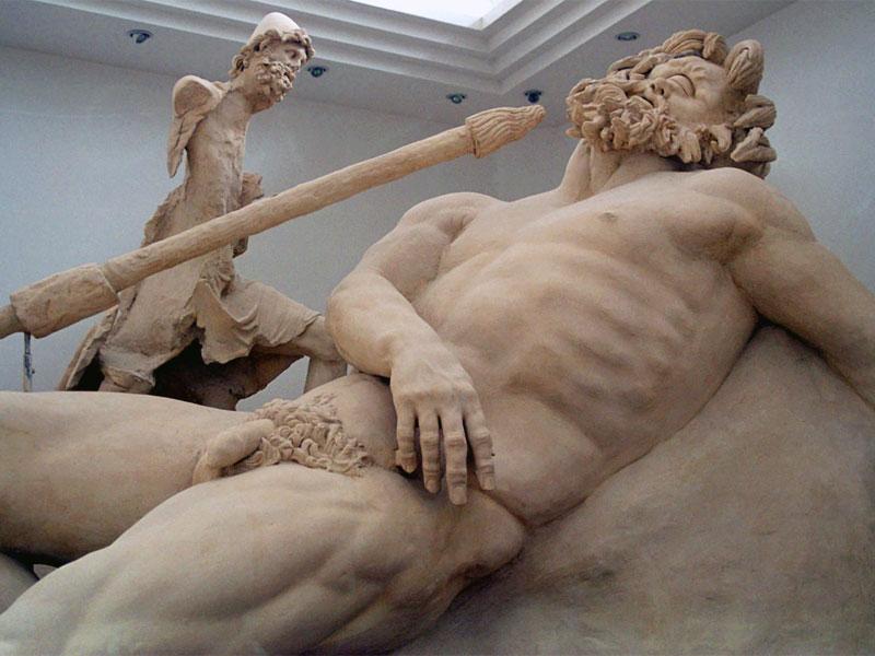 Polifemo - ciclopi - scultura