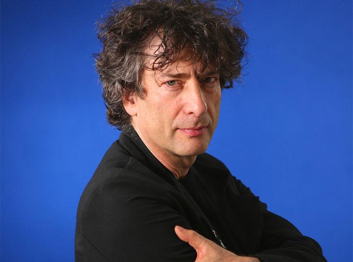 Una fotografia di Neil Gaiman