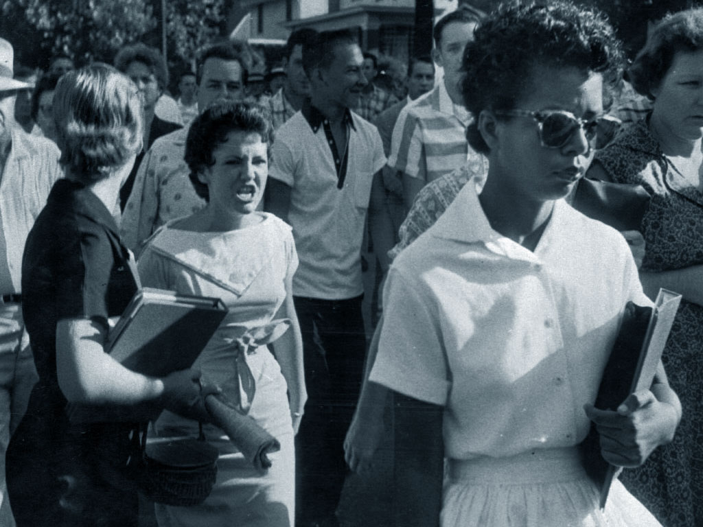 Little Rock Nine - Hazel Bryan - Elizabeth Eckford