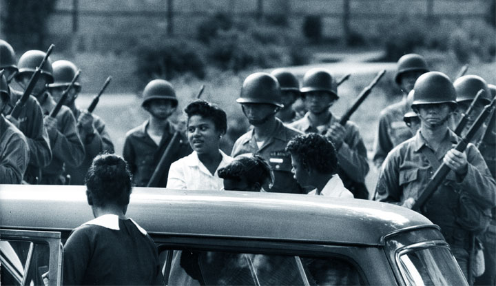 Little Rock Nine - militari