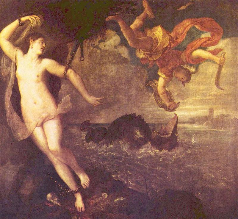 Perseo e Andromeda - Tiziano - 1553-1559