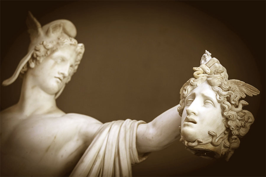 Perseo trionfante - Scultura di Antonio Canova – Musei Vaticani