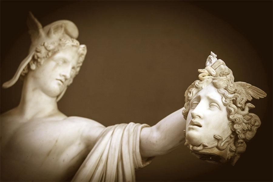 Perseo trionfante - Scultura di Canova