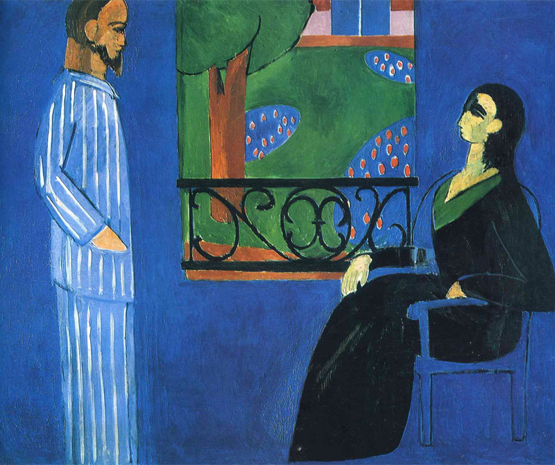 Conversazione - The Conversation - Matisse - 1908-1912