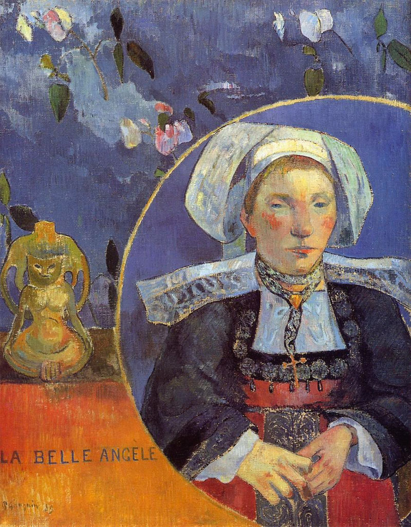 La belle Angele - Gauguin