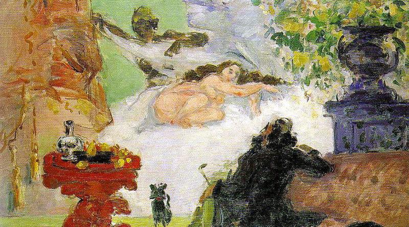 Moderna Olympia - Cezanne - 1873-1874