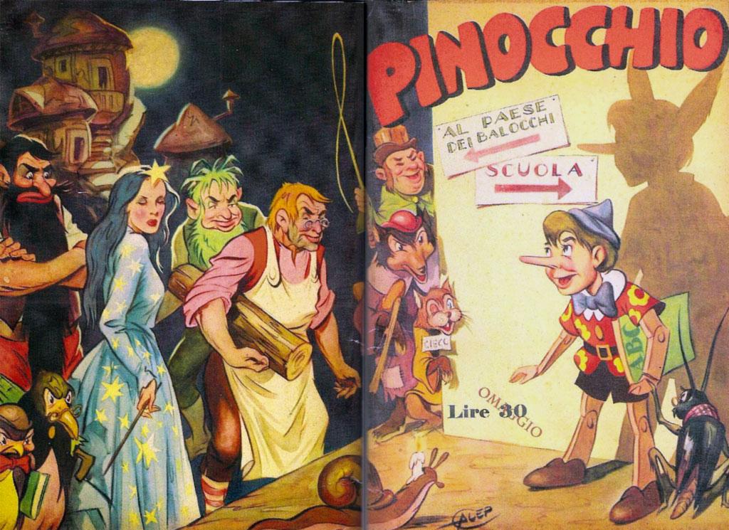 Pinocchio - Libro - Riassunto