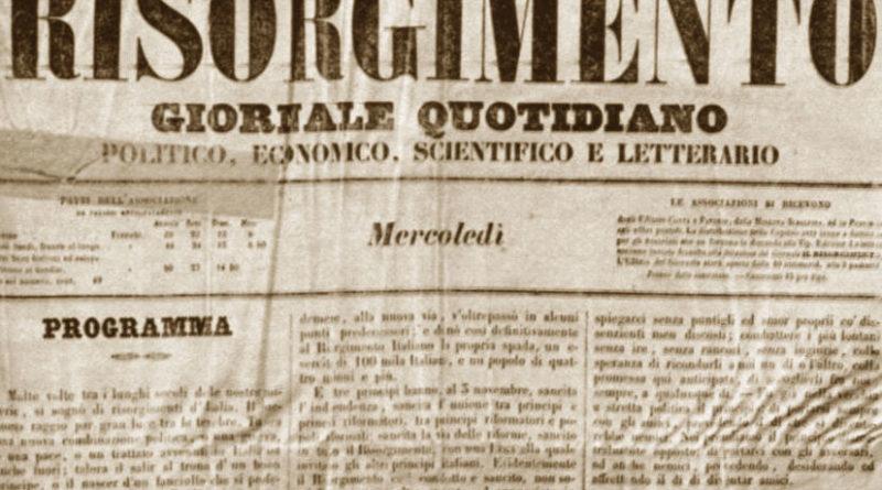 Il Risorgimento - giornale - gazzetta